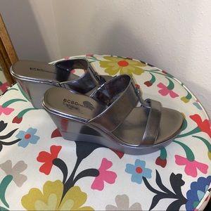 BCBG Wedge Sandals SZ 10
